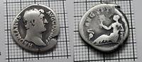 AEGYPTOS Hadrian 117-138 AD. Original Antique ROMAN Coin SILVER Denarius # 0191