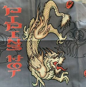 DRAGON  SINGLE BED QUILT COVER SET  (CHARLES PARSON)