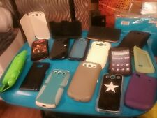 cell phone cases covers skins lot of 16 all used