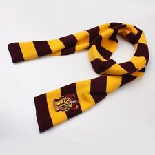 Harry Potter Knit Wool Scarf Wrap Gryffindor Fashion New Costume House Cosplay