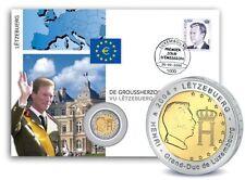 Münzen mit berühmter Persönlichkeit aus Luxemburg nach Euro-Einführung