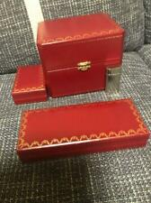 Cartier Empty BOX!clock box,pen box,lighter box!Box 3 Points Only!!!!!!!!!!!!!!!