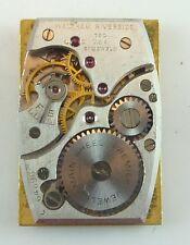 Vintage Waltham Riverside Mechanical Wristwatch Movement -  Parts / Repair