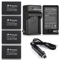 LP-E12 Battery + Charger for Canon EOS M 100D Rebel SL1 Camera