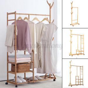 Closet System Storage Organizer Garment Rack Clothes Hanger Dry Shelf Shoe Rack