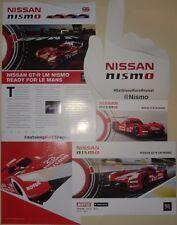 Le Mans Du Mans FIA WEC Nissan Motorsports GT-R LM Nismo Rare Set Of Memorabilia