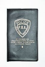 Port Authority Police PBA Weekly Planner / Pocket Calendar Cover - Hard to Find