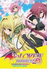 DVD To Love Ru Darkness 2 Uncensored Season 4 Episode 1-14 End English Subtitle