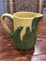 "Vintage Shawnee Pottery Corn King Creamer Pitcher #70 USA 4.75"" Tall No Damage"