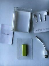 Apple iPod Shuffle 3rd Gen. Green 2gb (A1271) Open Box, Complete