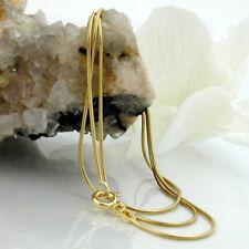 Neue Damen Schlangenkette Anhängerkette Halskette 585er Gold 14 KT 45 cm 0,7 mm
