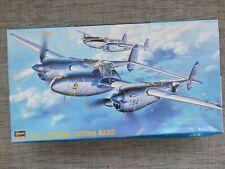 HASEGAWA 09101 - P38J LIGHTNING VIRGINIA MARIE - 1/48 SCALE MODEL KIT
