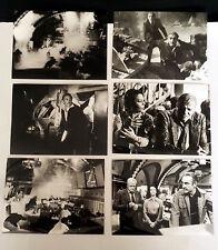 METEOR * Sean Connery, N. Wood - 6 PRESSEFOTOS 24x18cm ´80 PHOTOS LOT SCI-FI