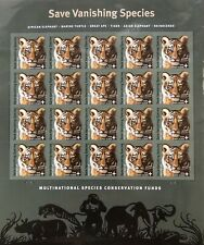 """Usa stamps 2011 (Mint) - B4 """"Save Vanishing Species"""" - Forever stamp sheet"""