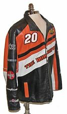 ➤Wilsons NASCAR Nextel Cup Tony Stewart #20 Home Depot Leather Racing Jacket!Med