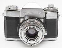 Zeiss Ikon Contaflex IV Sucherkamera Kamera - Carl Zeiss Tessar 2.8 50mm Optik
