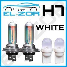 H7 XENON WHITE 55W DIPPED BEAM HEADLIGHT HEADLAMP BULBS LIGHT 501 LED SIDELIGHT