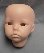 Vintage Hilary by Dianne Effner Porcelain Bisque Doll Head Repro