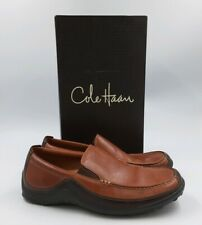 Cole Haan Men's Tucker Size 11M Brown Leather Slip-On Venetian Comfort Shoes