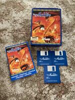 Commodore Amiga Disney's Aladdin Big Box Complete Game - Rare