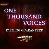 1K  (One thousand Voices) (Xbox Ps4 Pc) 💯% guaranteed farm