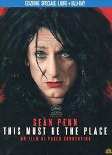 Blu Ray THIS MUST BE THE PLACE Sean Penn *** Ediz.Spec. LIBRO + Blu Ray ***NEW