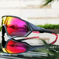 Outdoor Cycling Glasses Men Bike Bicycle Eyewear Sports Polarized Sunglasses Hot