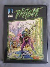 Plasm #0 Second Edition - ComiCollector Card Set Album (Defiant Comics, 1993)