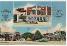 WARREN'S MOTEL & RESTAURANT~HARDEEVILLE,SC