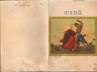 Vintage TOWN HOUSE BREAKFAST Restaurant Menu Carta Blanca Beer 1952