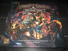 New RUM & BONES 2nd Second Tide Board Game CMON IN HAND Ready to Ship