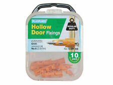Plasplug regolari dovere Hollow porta tappi fissaggio-confezione da 10 (dr308)
