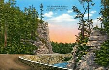 Birmingham, Alabama, AL, The Narrows across Shades Mtn., Vintage Postcard b4648