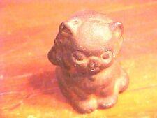 "Vintage Heavy Cast Iron Kitten Cat Paperweight Toy Hubley 1920s 2"" Figurine H676"