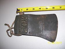"Rare Vintage Old Antique Axe Head Tool Marked ""Bow"", Found In Barn, Free Ship"