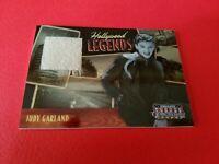 JUDY GARLAND AMERICANA HOLLYWOOD LEGENDS WORN RELIC SWATCH CARD #d500 WIZARD OZ