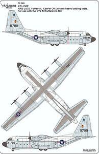 Warbird KC-130F Hercules, Uss Forrestal, 'Regarde Ma, Non Crochet'Décalques