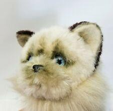 Vtg Avanti 1983 Himalayan Cat Plush Realistic StuffedAnimal Kitten Kitty