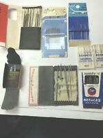 8 Vintage  Packets  Sewing Needles Milward's England ,Dyno,Penn - Darners & More