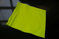 WATERPROOF - HI VIZ YELLOW - PU COATED POLY 6oz MATERIAL - FABRIC - 1M L 150cm W