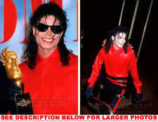 MICHAEL JACKSON 1987 BAD ERA BMIAWARD 2xRARE PHOTOS
