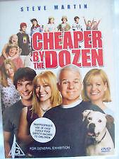 Cheaper By The Dozen (DVD, 2003) Steve Martin - Region 4 Australia