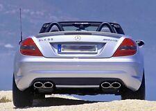 Mercedes AMG R171 SLK55 Rear Bumper Diffuser Insert AMG Styled models