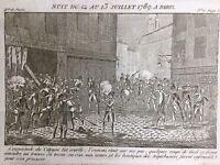 Révolution Française 13 Juillet 1789 Attaque de l'arquebuserie Révolutions Paris