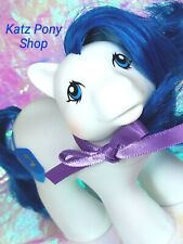 HQG1C Custom Vintage G1 MLP Style Hanukkah Baby Boy Pony 🌟 DREIDEL 🌟 w Ribbon!