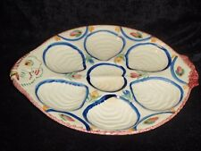 1968-1983 Quimper Fish Shaped Oyster Plate