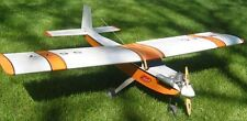 "New 4 Channel 47.5"" Trainer 60 Style RC Plane Kit Remote Control 47.5in Balsa"