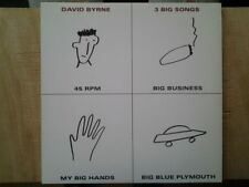 disque vinyle maxi 45 rpm David Byrne. 3 Big Song (Talking Heads)
