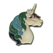 Wholesale Lot of 12 Blue Green Unicorn Horse Hat Pins Fast Usa Shipping