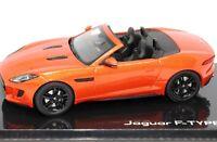 Jaguar F-Type V8-S Convertible Firesand 1:43 Scale Diecast Dealer Model Car IXO